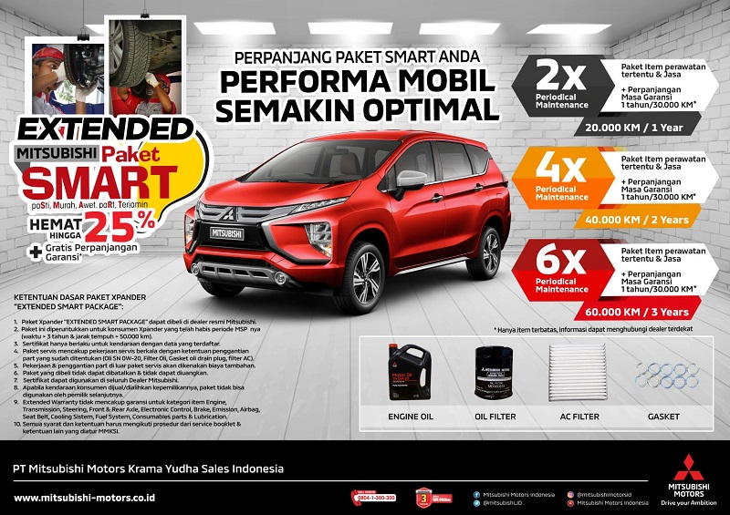 Xpander extended smart package