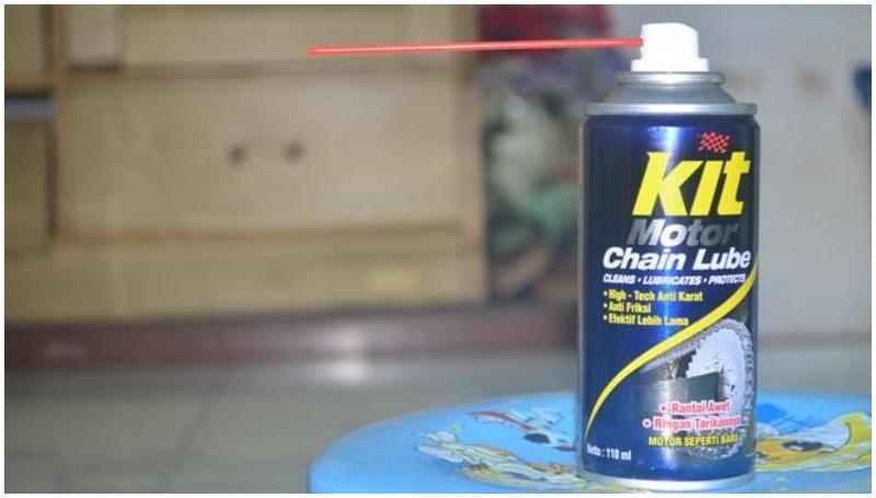 Kit Motor Chain Lube, pilihan pelumas rantai motor terbaik