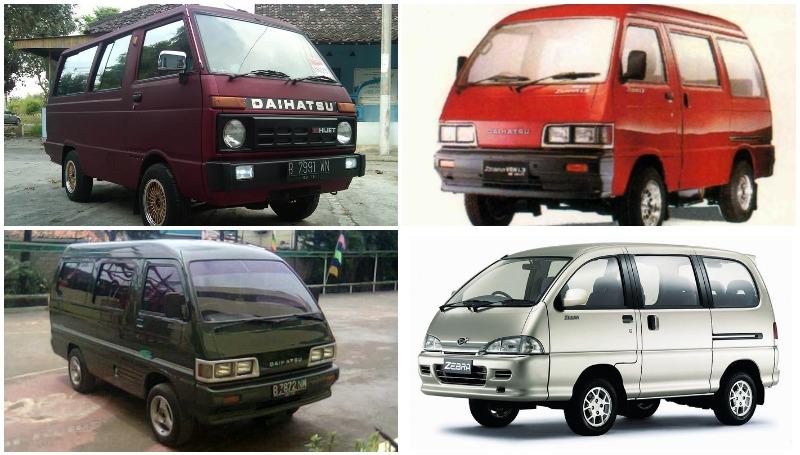 Perjalanan Daihatsu Hijet, Zebra, Espass hingga ke Gran Max