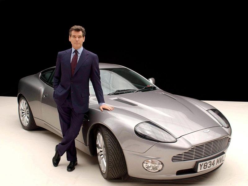 Aston Martin Vanquish James Bond