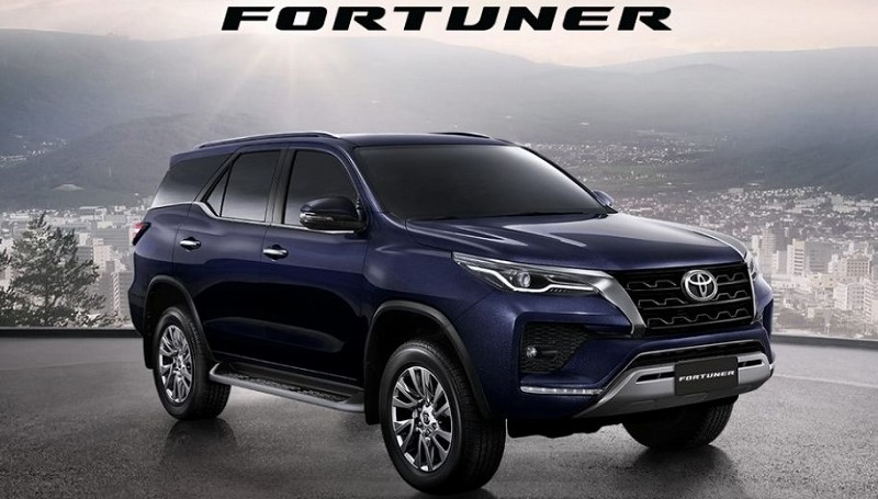 Toyota Fortuner facelift 2020
