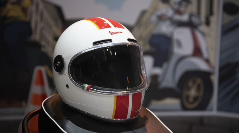 helm vespa racing 60's