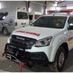 Permintaan mobil ambulans untuk Isuzu mu-X alami peningkatan