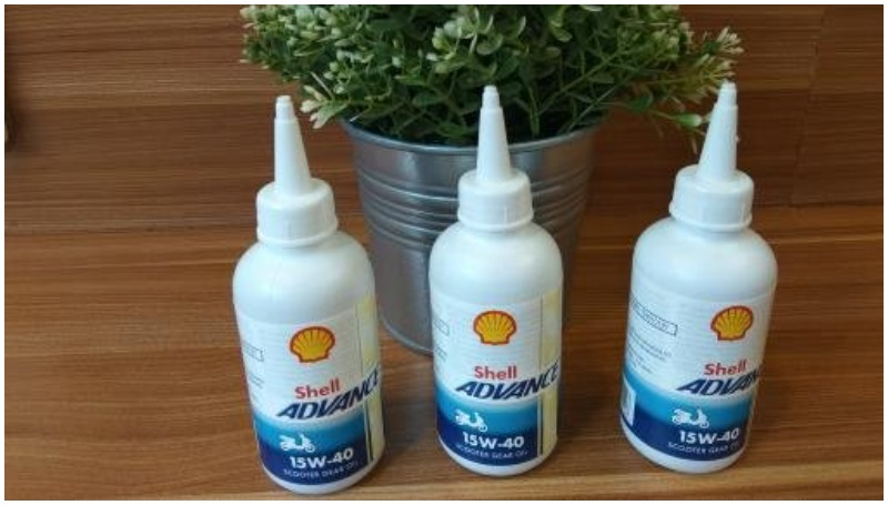 Shell Advance Scooter Gear Oil, jadi pilihan oli gardan terbaik