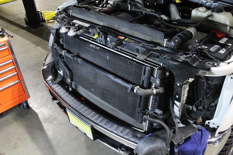 Tarif service radiator mobil