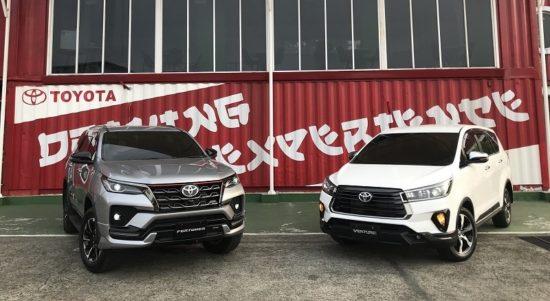 Sejumlah perubahan di Toyota Fortuner dan Kijang Innova facelift