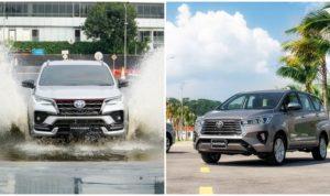 Harga Toyota Fortuner dan Kijang Innova facelift 2020