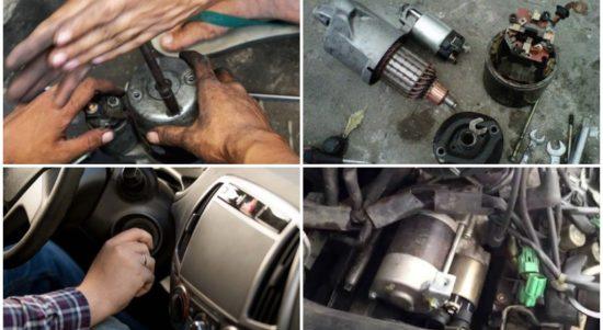7 Ciri-ciri dinamo starter mobil rusak