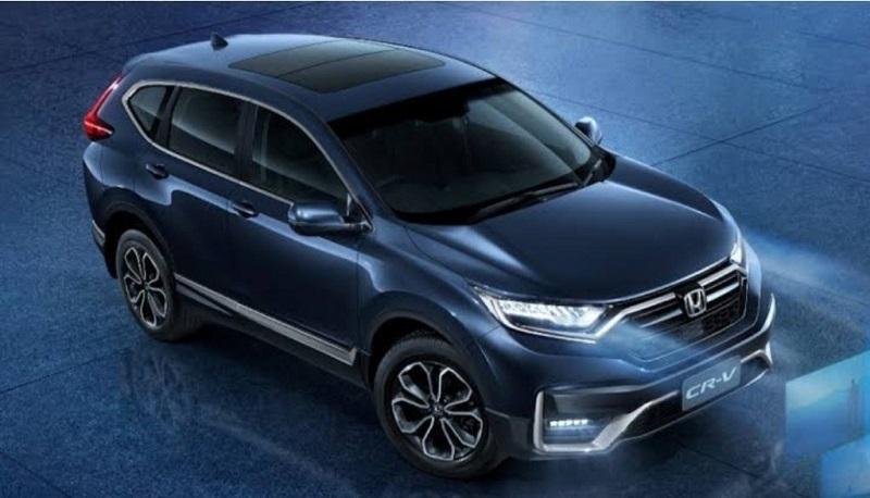 CR-V facelift dilengkapi fitur Honda Sensing