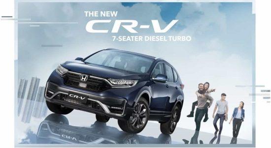 Honda CR-V facelift 2021