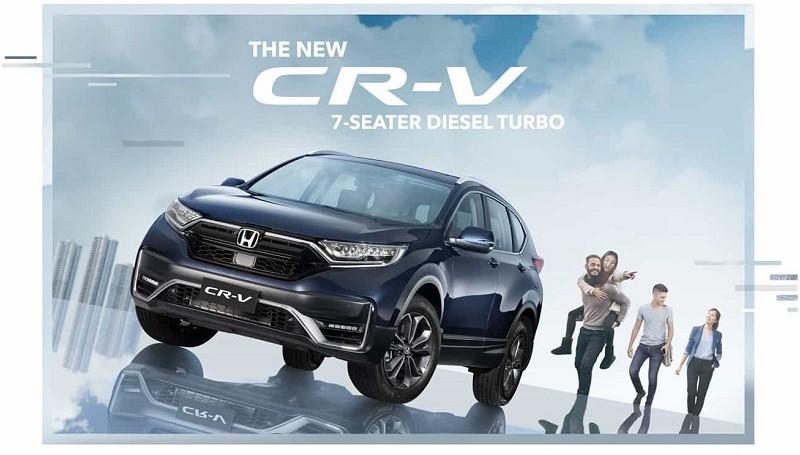 Honda CR-V facelift 2021 dilengkapi Honda Sensing