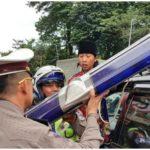 Tindakan hukum untuk pengguna strobo dan rotator