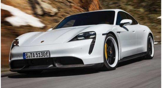 Porsche Taycan dilengkapi dengan perangkat hiburan Apple Podcasts