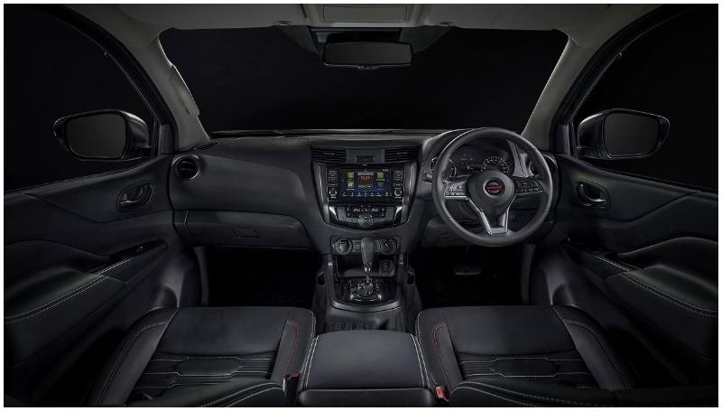 Interior Nissan Navara facelift