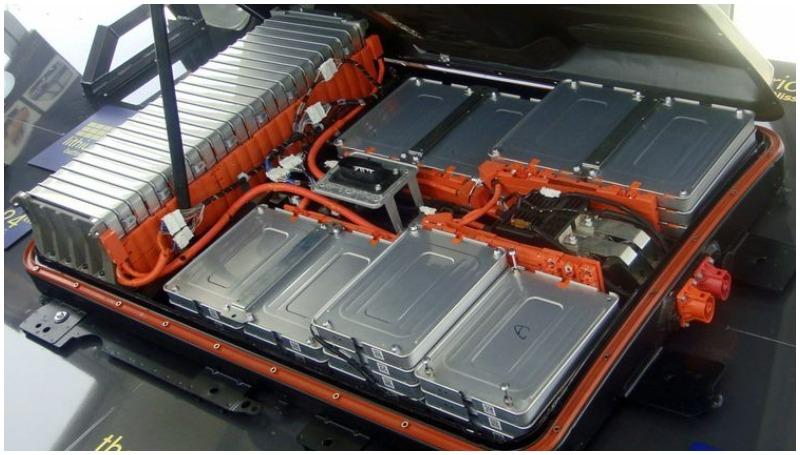 Ilustrasi baterai kendaraan listrik