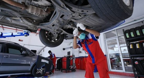 Layanan Astra Otoservice