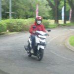 test ride yamaha gear 125