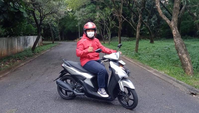 Yamaha Gear 125 kuat nanjak