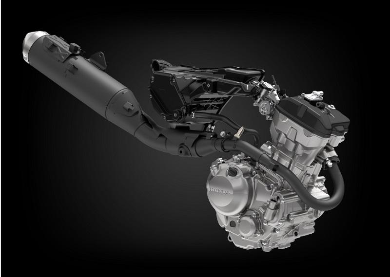 mesin honda crf250 rally baru vs lama