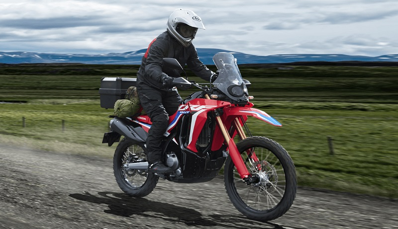 tips naik motor offroad untuk pemula