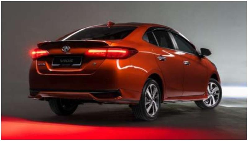 Generasi terbaru Toyota Vios
