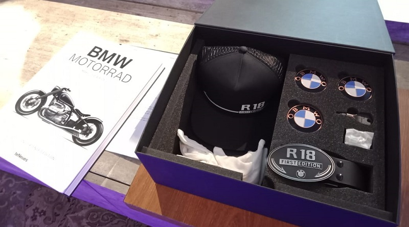 welcome box bmw r18 first edition