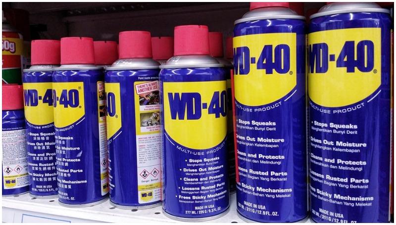 Mengenal fungsi WD 40