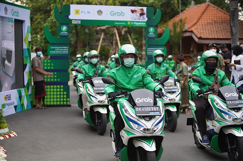 SPBKLU di Bali dapat dukungan Grab