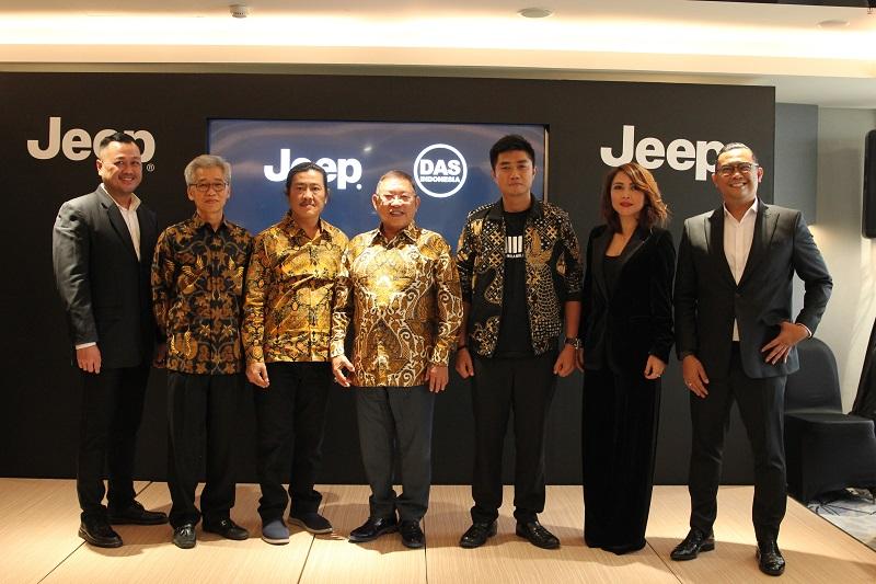 Jajaran manajemen DAS Motor Indonesia