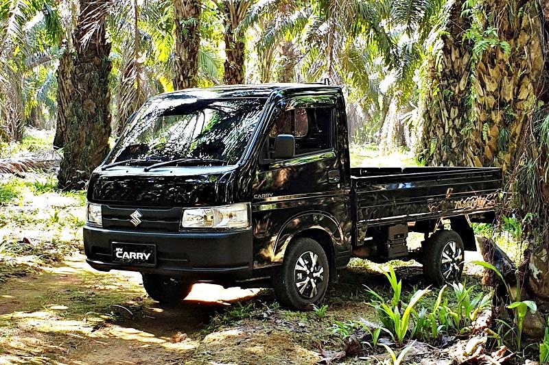Penjualan Suzuki Carry Pikap berkontribusi besar segmen kendaraan niaga ringan