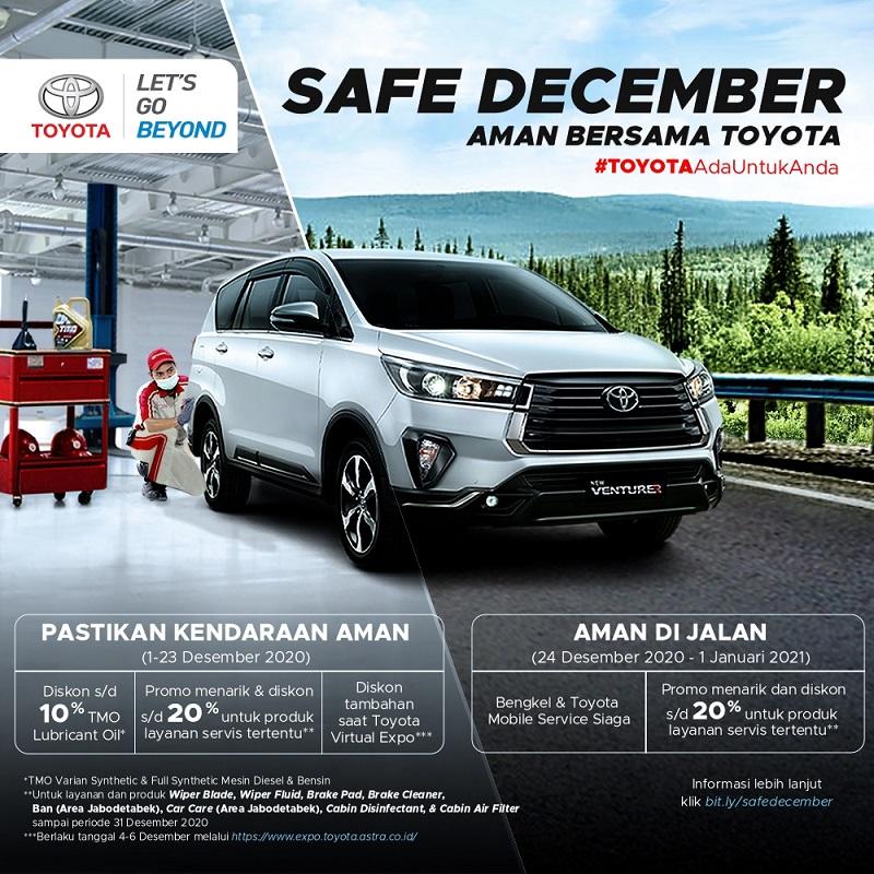 Program Toyota Safe December