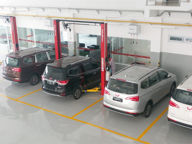 Layanan aftersales Wuling