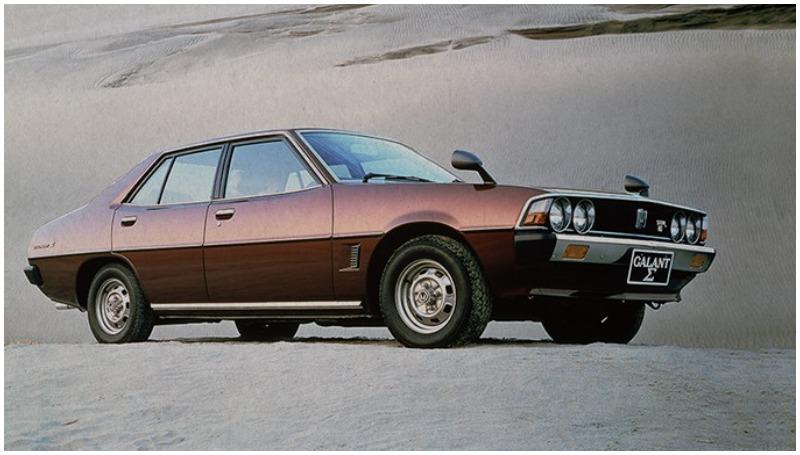 Galant jadi mobil legendaris Mitsubishi