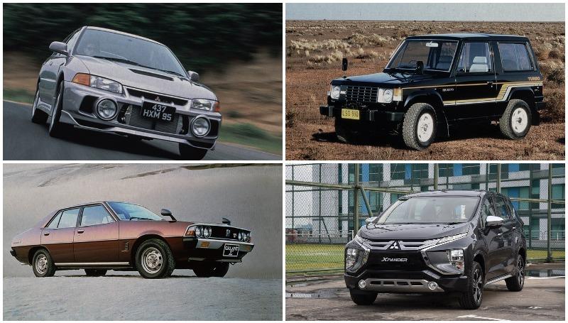 Mobil legendaris Mitsubishi