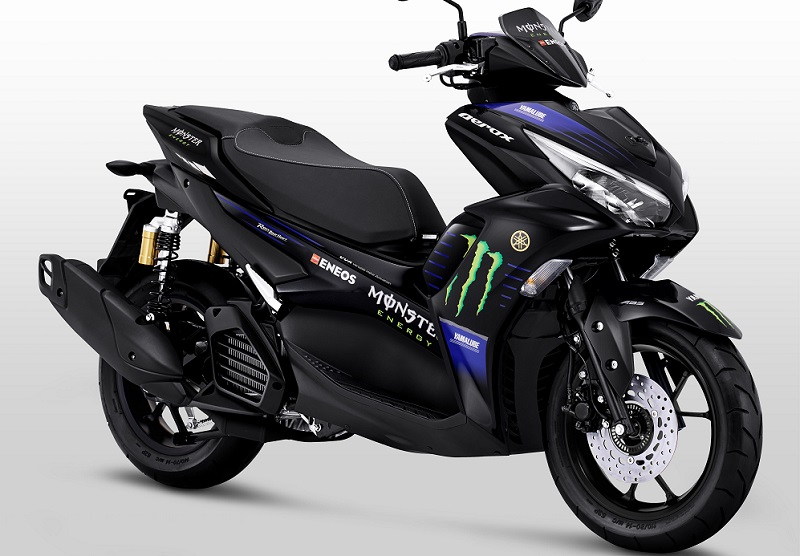 yamaha aerox 155 connected motogp