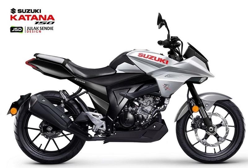 motor terbaru tahun 2021 suzuki katana 150