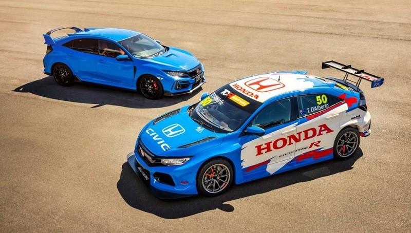 Honda Civic Type R punya warna baru 'Racing Blue'