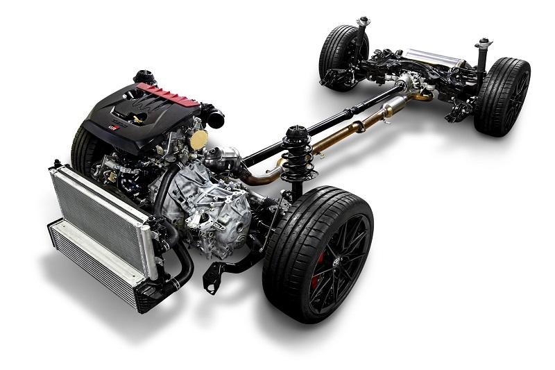 Mesin Toyota GR Yaris
