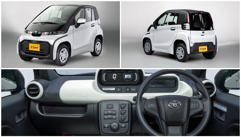 C Pod Mobil Listrik Murah Toyota Rp 200 Jutaan