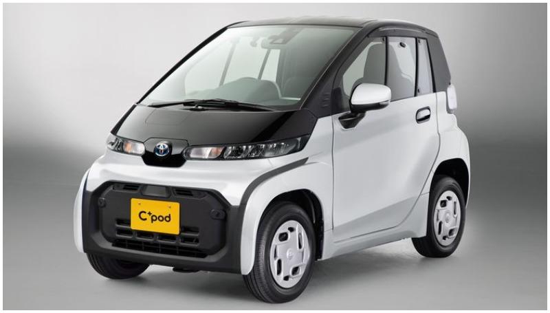 Toyota C+pod, mobil mungil bertenaga listrik