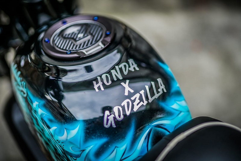 honda monkey modifikasi