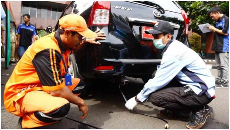 Syarat lulus Uji emisi mobil di DKI Jakarta (dok Pemprov)