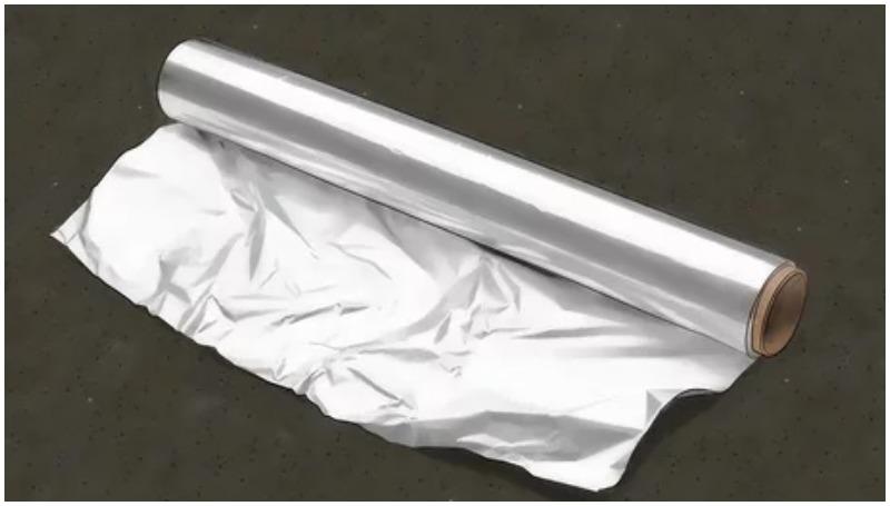 Cara menghilangkan karat pada chrome menggunakan alumunium foil