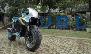 UBL lahirkan motor listrik cafe racer