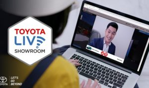 Layanan Toyota Live Showroom
