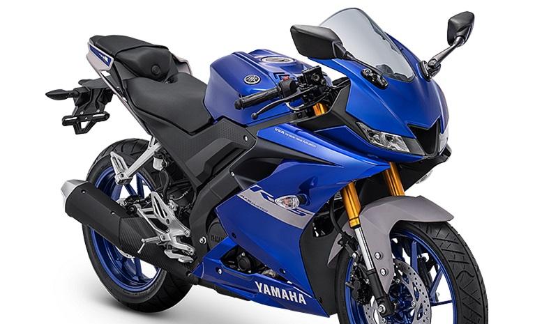 Warna metallic blue Yamaha R15 2021