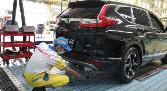Fasilitas uji emisi Honda