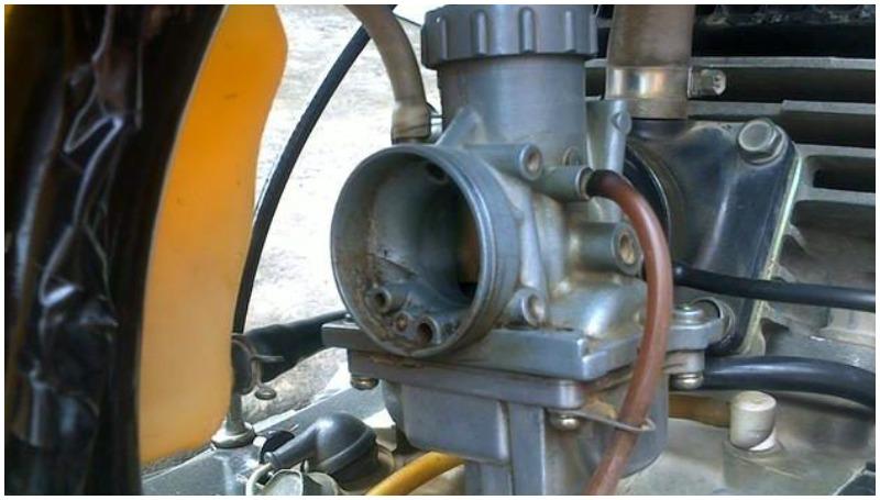 Bensin yang buruk menyebabkan karburator kotor