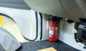 Alat Pemadam Api Ringan di mobil baru Suzuki