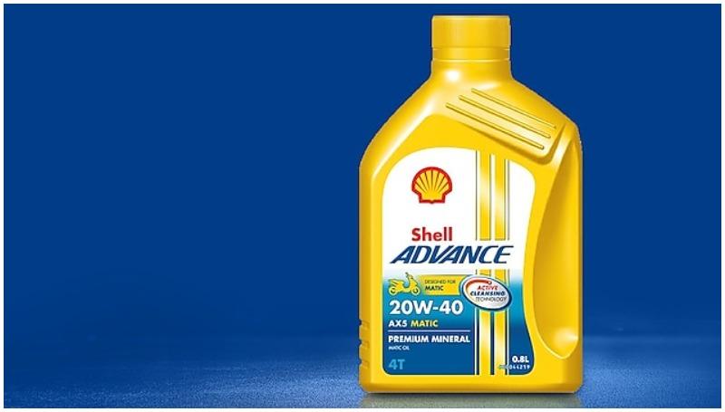 Shell Advance AX5, rekomendasi oli yang bagus untuk motor matic